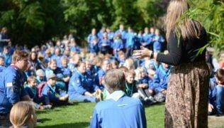 240 spejdere indtog Odense Zoo